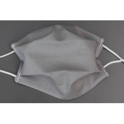 masque en coton bio adulte uni gris