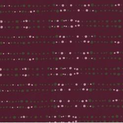 carré de coton bio rouge noël