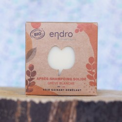 Après shampoing solide grève blanche Endro