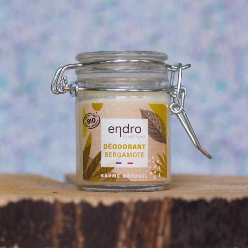 Déodorant baume bergamote bio endro