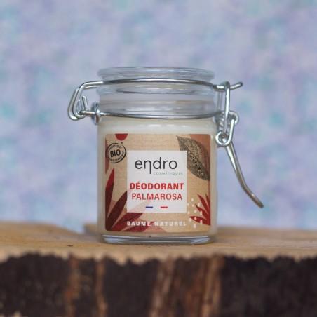 Déodorant baume palmarosa bio endro