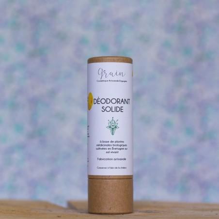 Déodorant solide bio grain cosmétique